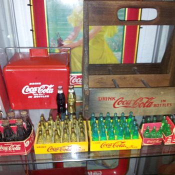 Finds at The Coca Cola Yard Sale  - Coca-Cola