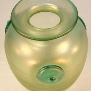 Loetz Orpheus Vase - Art Glass