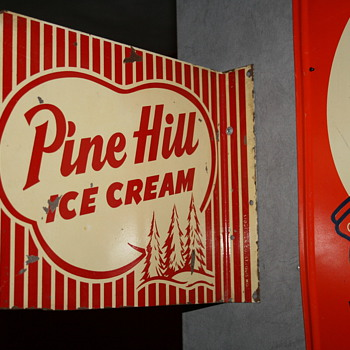 Pine Hill ice cream sign