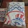 1964 NY Yankees towel and scorecard