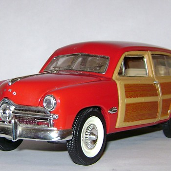 49' Ford Woody Wagon - Model Cars