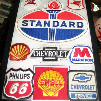 Gas,Oil,and Automotive Patches - Petroliana