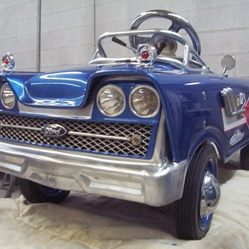 Custom 1959 Murray pedal car