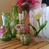 Kralik Flower Friends & Rindskop Iridescent Vases