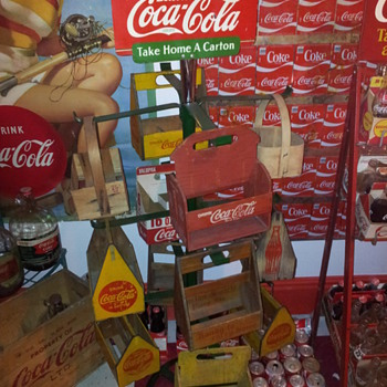 RARE 1940's Coca-Cola Red Carrier