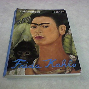FRIDA KAHLO POSTCARD BOOK 1992