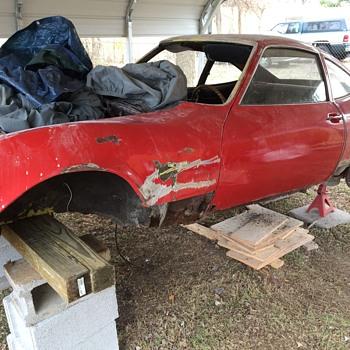 My 1970 Opel GT rebuilt.