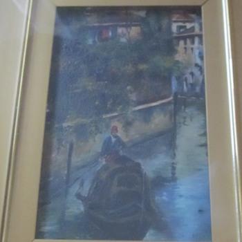 Small painting E. Jackson  - Visual Art