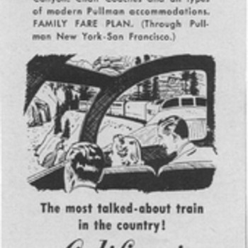 1954 Western Pacific Railway Advertisement - Advertising