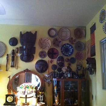 My african bedroom wall