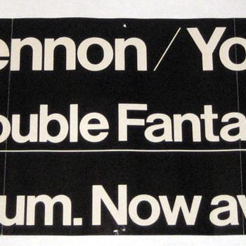 John Lennon promo poster-1980