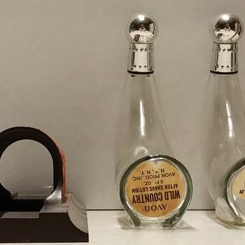 Various Avon Bottles - Bottles