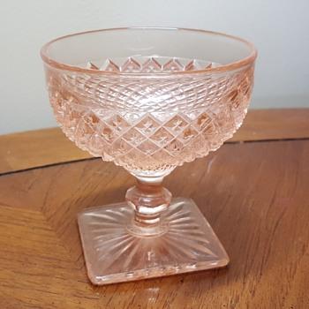 Pink Sherbet Bowl