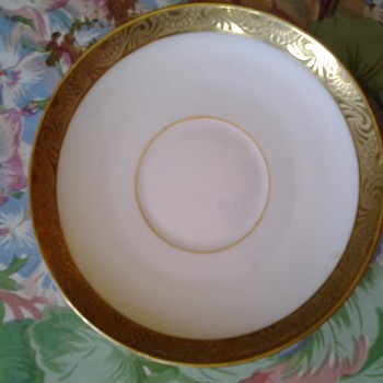 d & c france d.b. bedell & co. new york cup saucers - China and Dinnerware