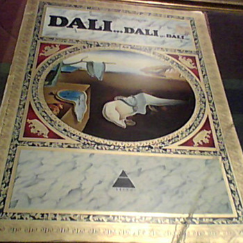 DALI  PRINT CATALOGUE 1974 - Books