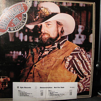 1977 Charlie Daniels Demonstration LP - Records