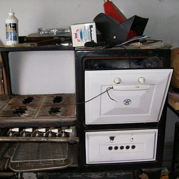 Old gas stove.