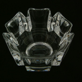 Small Orrefors Bowl - Art Glass