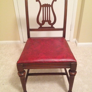 Lyre Back Dining Chair