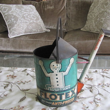 Folk Art Automobilia Watering Can?