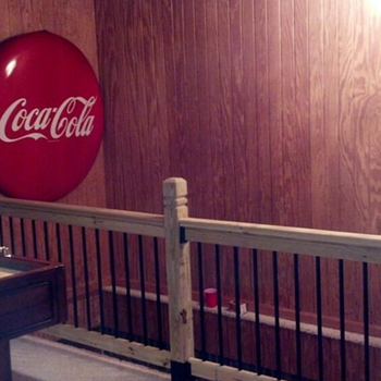 48 inch coca cola button