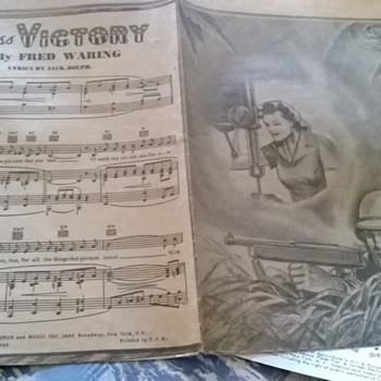 1942 Miss victory by fred waring lyrics by jack dolph - Music