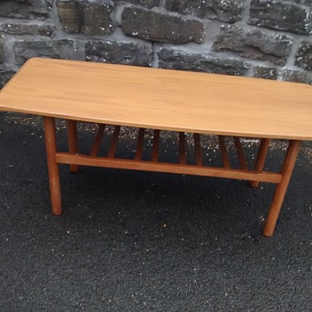 G Plan vintage retro all wood coffee table 126cm long with no worm and well cared for.