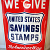 United States Savings Stamps Sign
