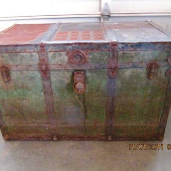 Antique Trunk #4 - Furniture