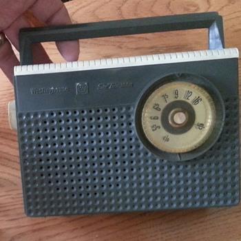 Westinghouse six transistor 1960