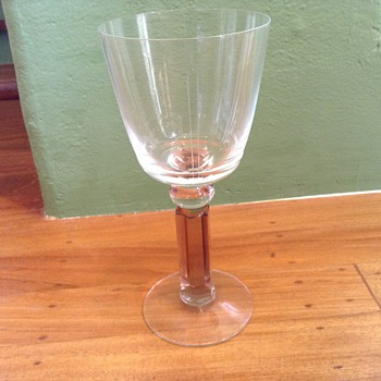 Unknown antique crystal:help! - Glassware