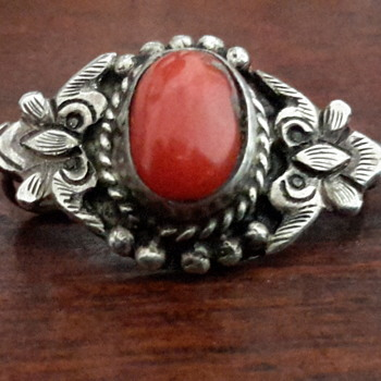 Arts and craft art nouveau sterling silver brooch - Sterling Silver