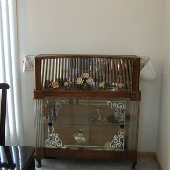 Curio cabinet or bar?