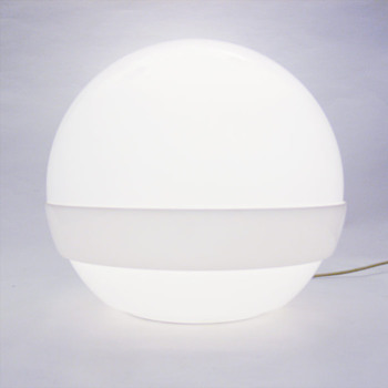 Ball lamp, André Ricard (Metalarte, 1970)