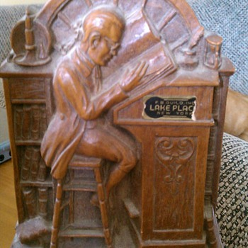 Grandfathers bookend - Books