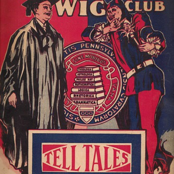 1922 Mask & Wig Club Lyrics Book