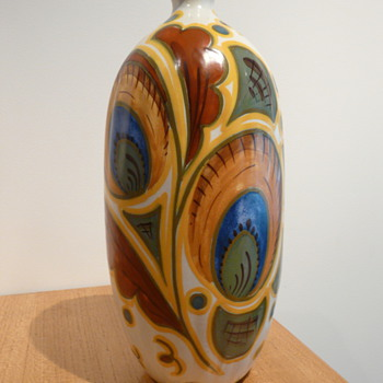 ZUID HOLLAND GIN BOTTLE - Art Pottery