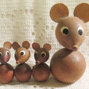And one more thing -- a mouse family!