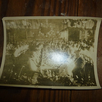 1920s Photograph of Roosevelt at Camp - Photographs