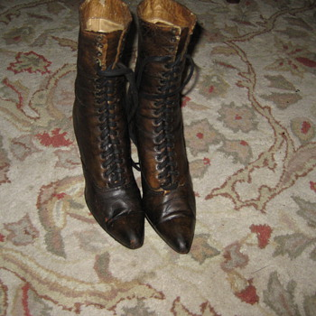 Antique Victorian (Edwardian?) Era Lady's Boots