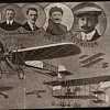 Danish flying pioneers on postcard sent 1911, quite rare postcard