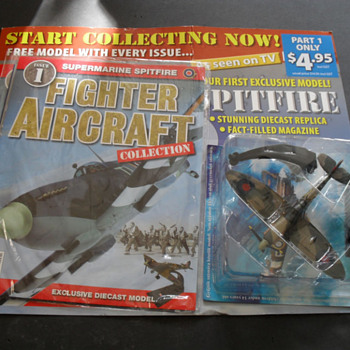 Spitfire Diecast Model and Fighter Aircraft Magazine Vol 1 - Military and Wartime