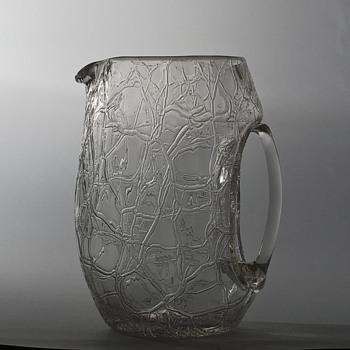 Koloman Moser jug for Loetz - Art Glass