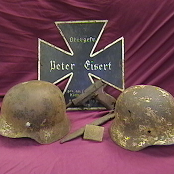 WW II Ground Dug German Relics - Military and Wartime
