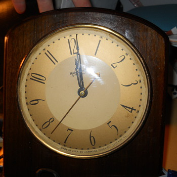 Hammond Clock Como Model