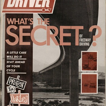 USAF Driver Magazine - March 1972 Issue - Paper
