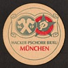 Hacker-Pschorr Brau Munchen - Beer Coaster