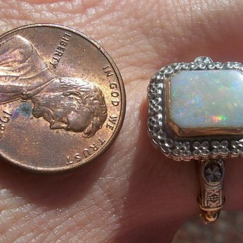 Great Grandmother's Birthstone Ring