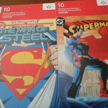 Superman Stamps. - Stamps