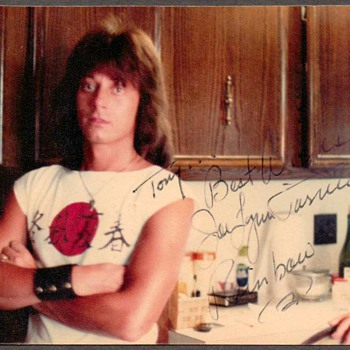 "Joe Lynn Turner ""Rainbow"" Autographed Photo - Music"
